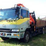 Sitiawan Cargo Lorry Crane