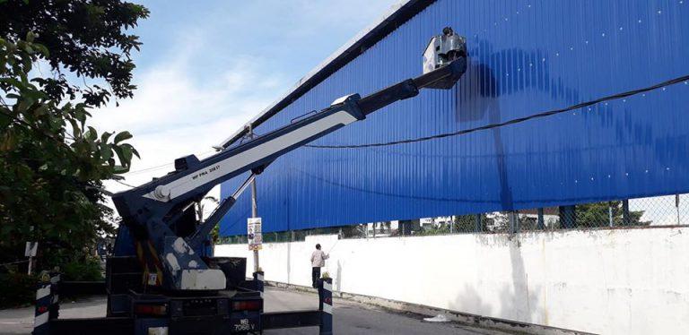 Ayer Tawar-Skylift 14 Meter