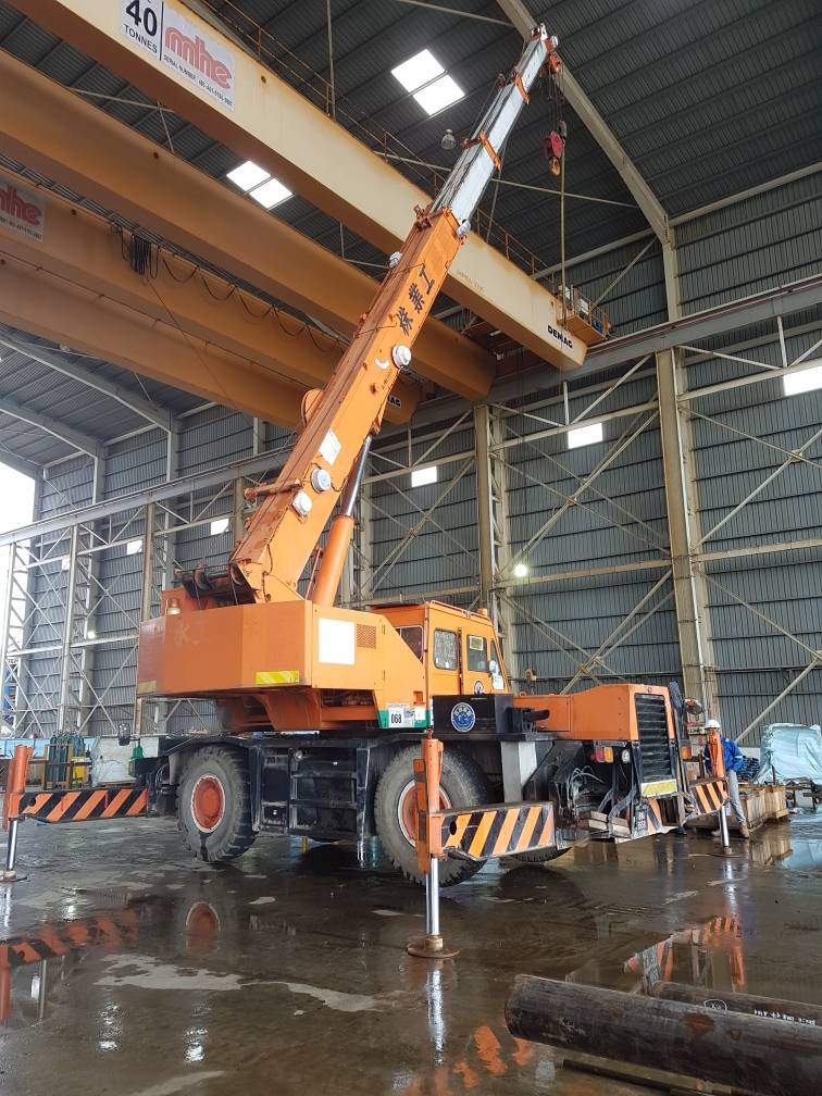 Kg Acheh-Crane 25 Ton
