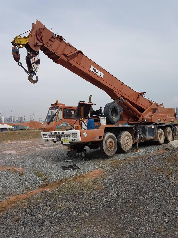 Lekir-Crane 45 Ton