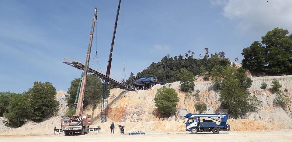 Segari-Crane 50 Ton