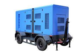 Genset with trailer